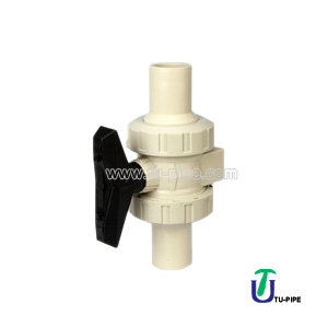 PP True Union Ball Valve (metric) DIN