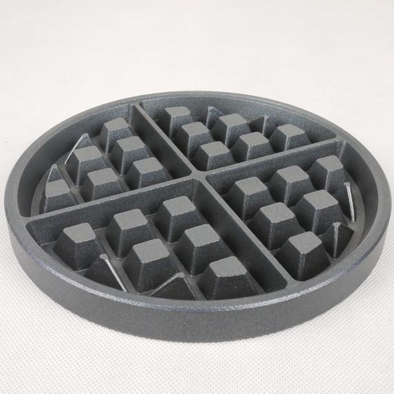Waffle Maker Aluminum Plate, Grids Casting