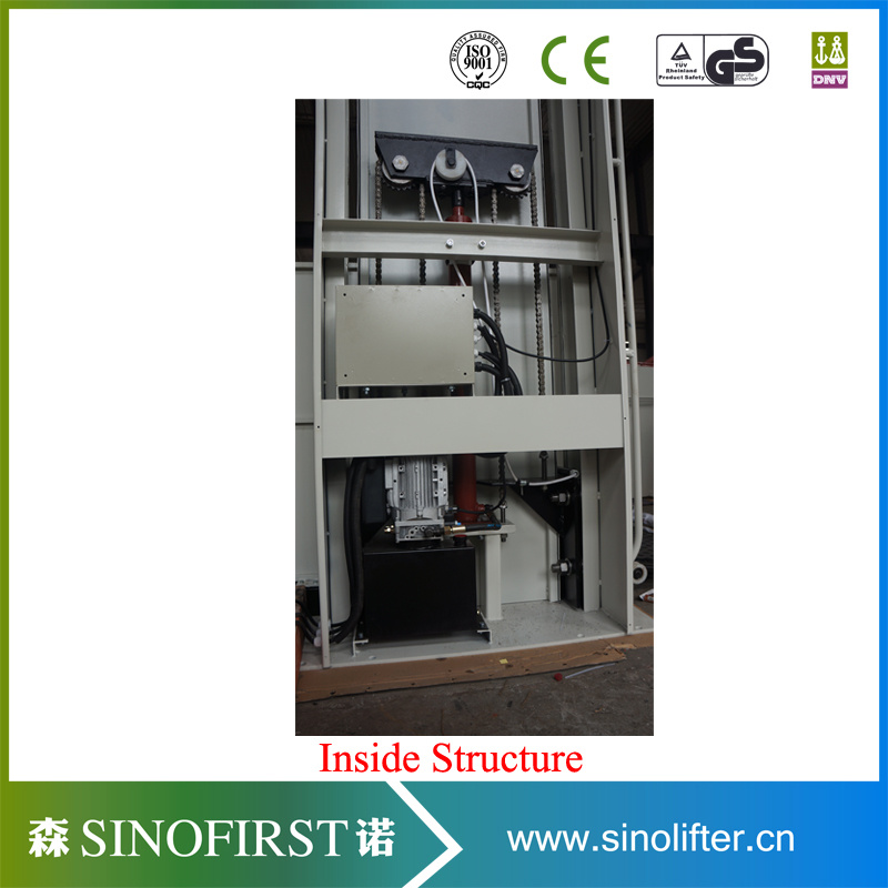 250kg 5.5m Outdoors Household The Aged Wheelchair Lift Platform