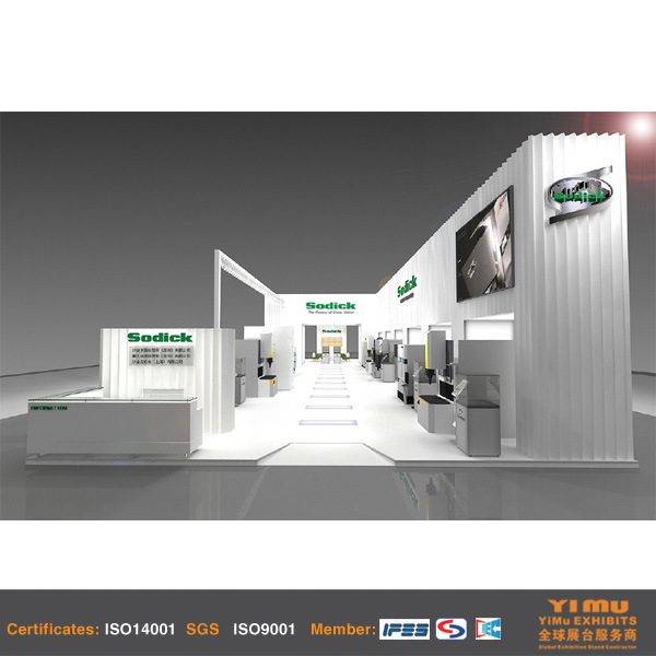 Exhibition Display Stand Builder for Chinaplas 2015