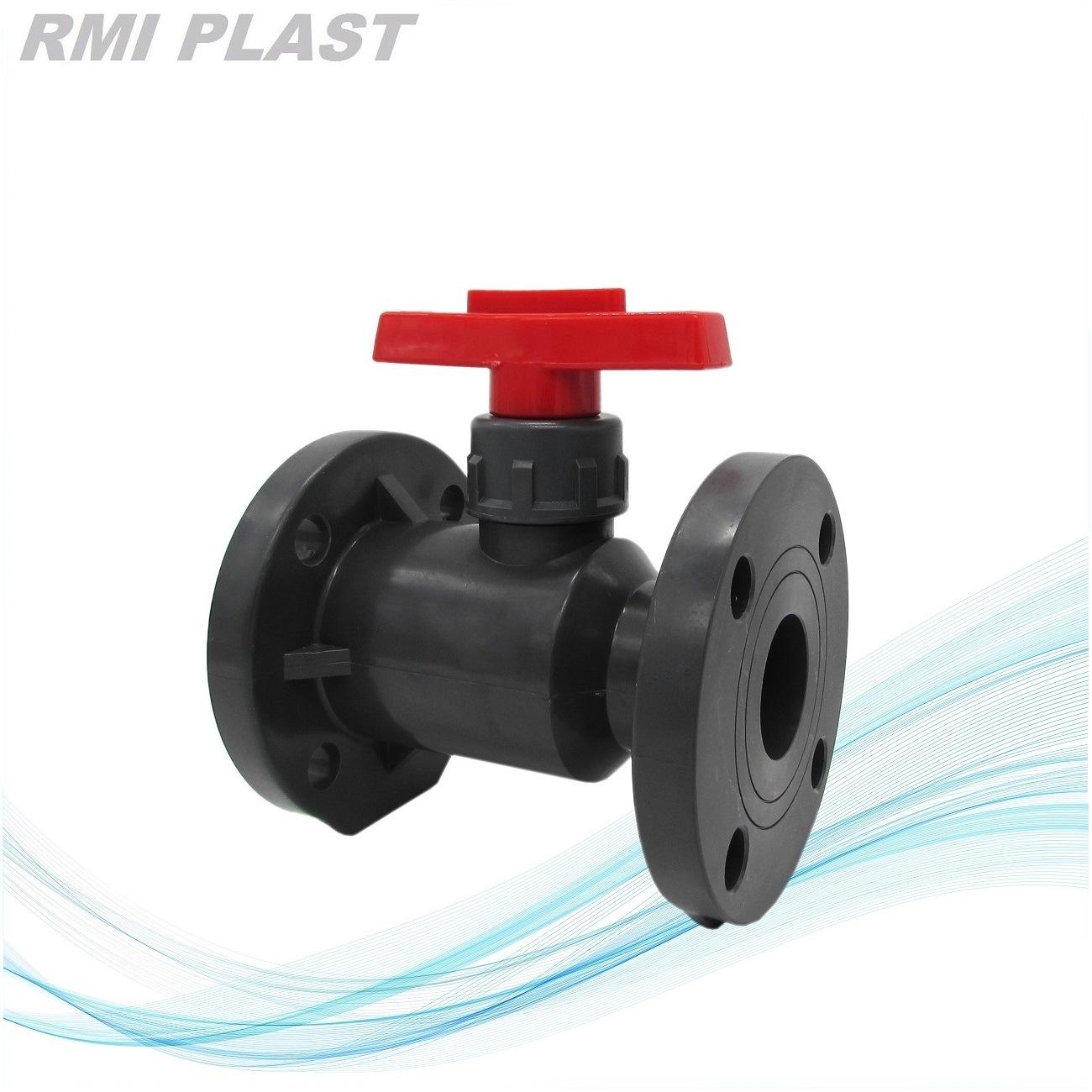 PVDF PP CPVC PVC Plastic Ball Valve