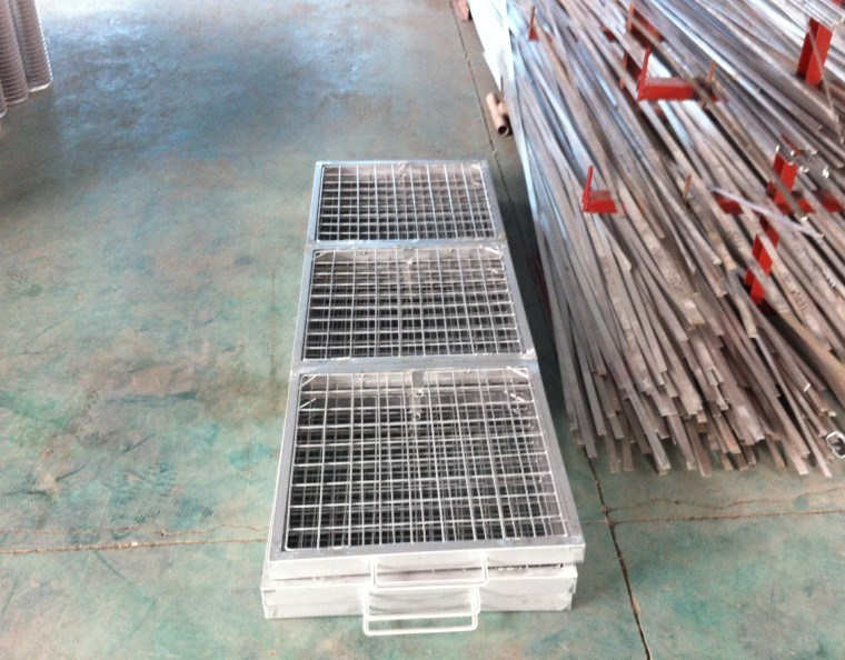 Wedge Wire Steel Grating
