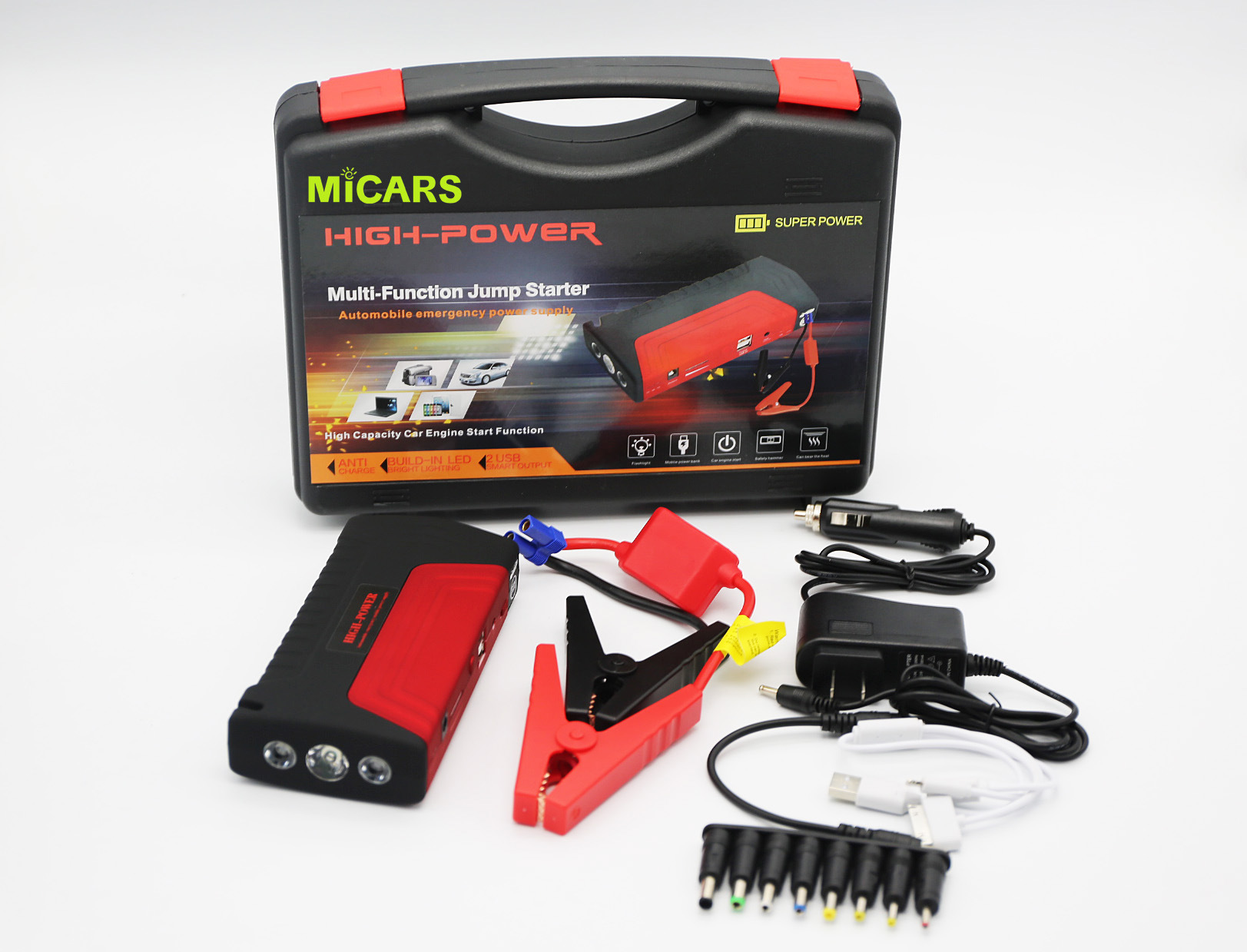 Good Quality Mini Car Jump Starter Power Bank 12000mAh Universal Car Jump Starter Power Bank