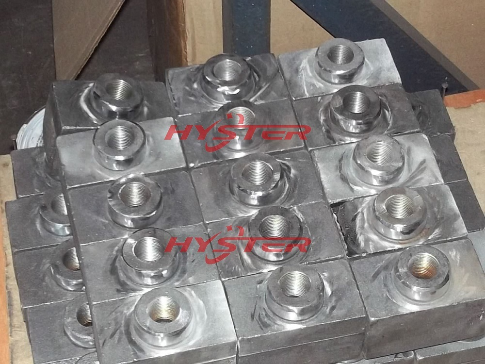 Manufacture 63HRC White Iron Hammer Tips Domite Tips for Sugar Mill