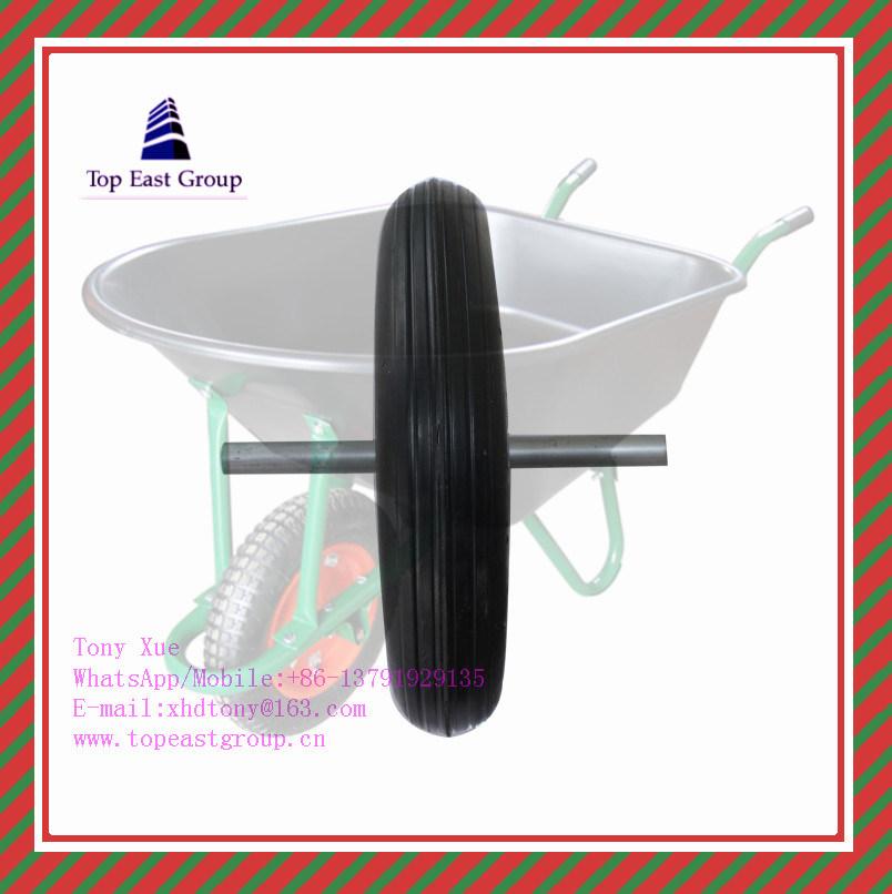 300-7, 350-8, 400-8 High Quality PU Foam Wheel
