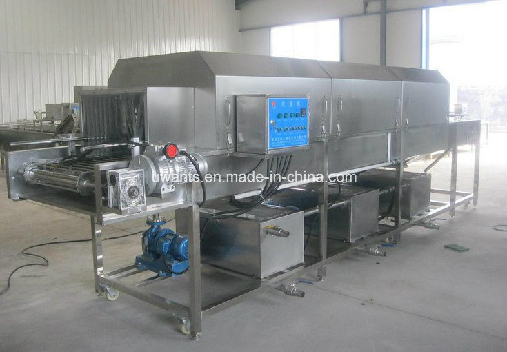 Industrial Turnover Basket Washing Machine