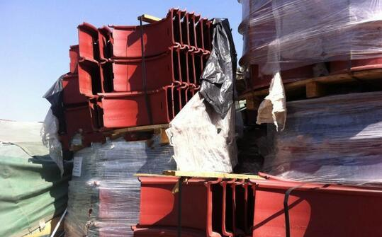 3 Pieces Truck Rim with Lock Ring, Steel Truck Tube Wheel Rim