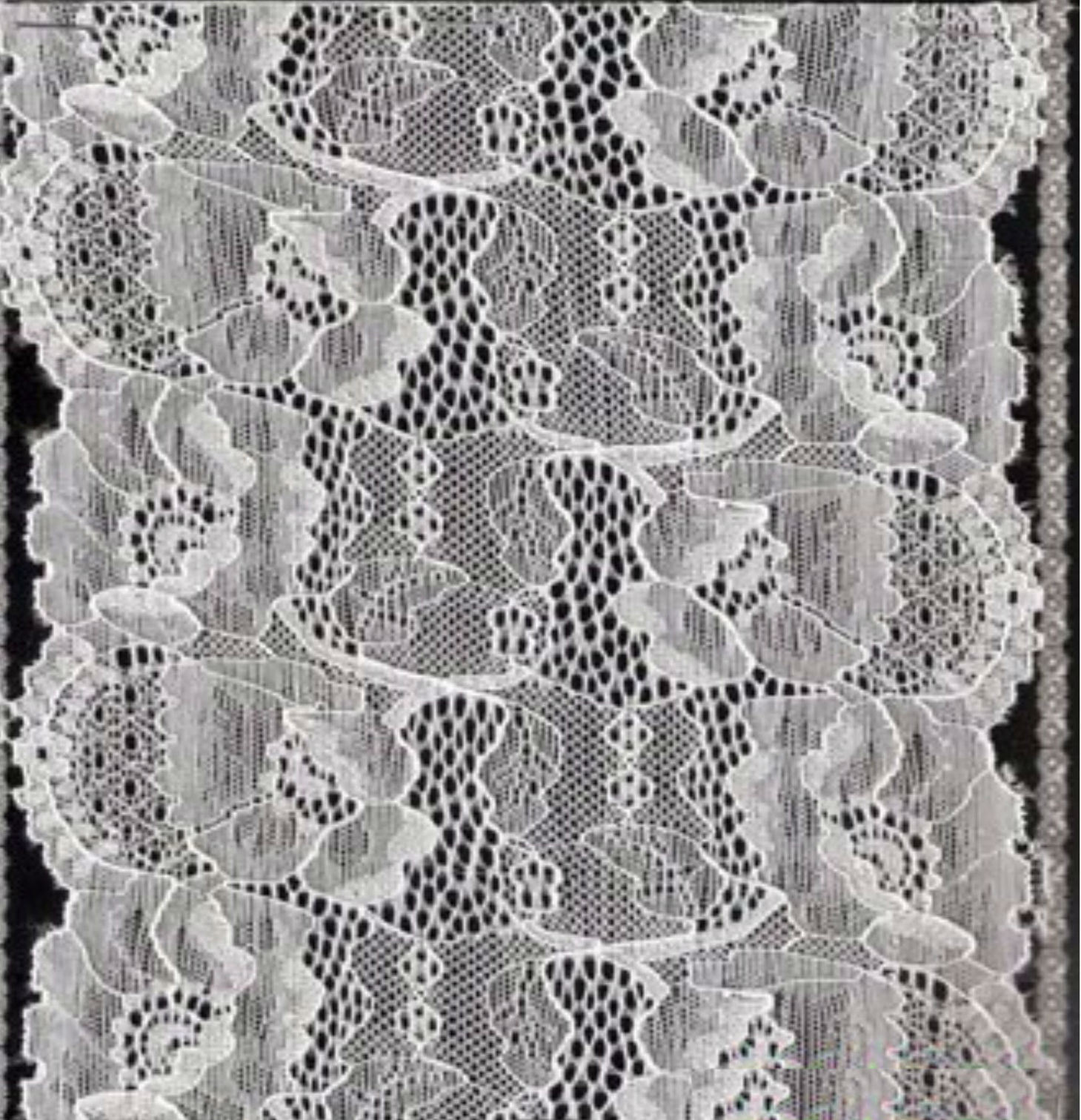 18cm Stretch Lace for Lingerie (with oeko-tex standard 100 certification)