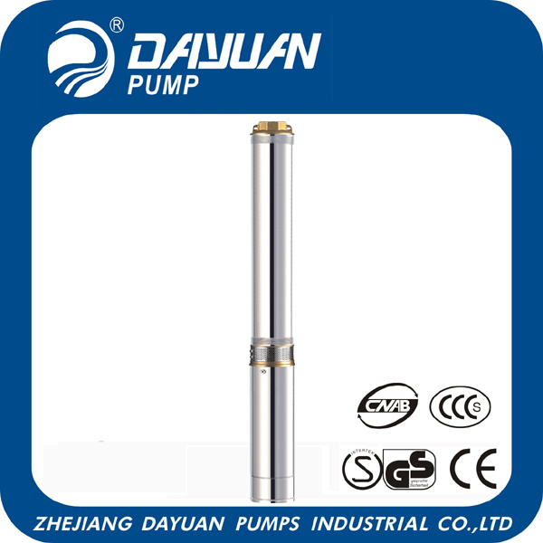 Submersible Deep Well Water Pump with CE (QJD6-23/7-0.55)