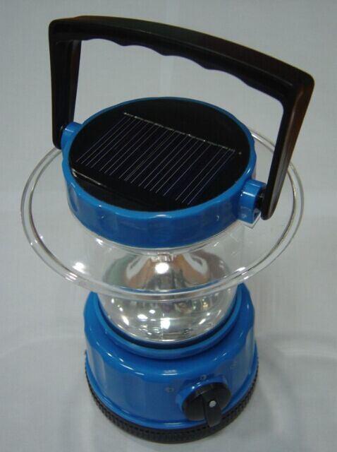 Solar Portable LED Lantern Lamp Light with High Quality Class