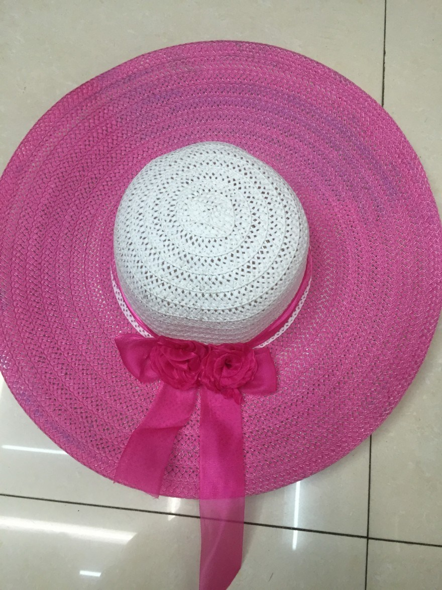 Sun Straw Paper Hot Selling Promotional Topee Glacier Cap Sunbonnet Hat GS122302