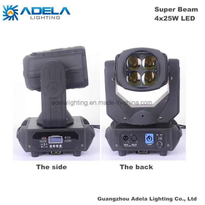 4X25W LED Super Beam Light Disco Light Stage Light