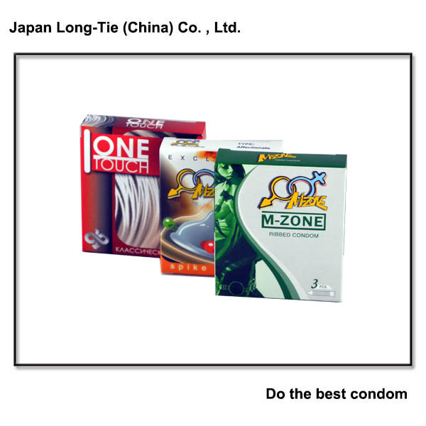 Natural Latex Male Condoms
