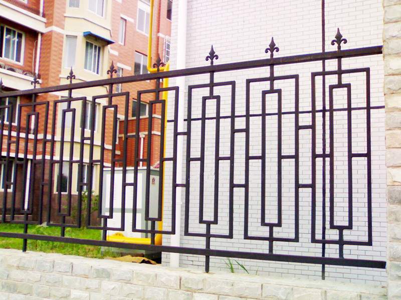 Fence supplies wrought iron