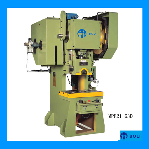 Mpe21 Series D Type Open Front Press with Fixed Bed and Adjustable Stroke