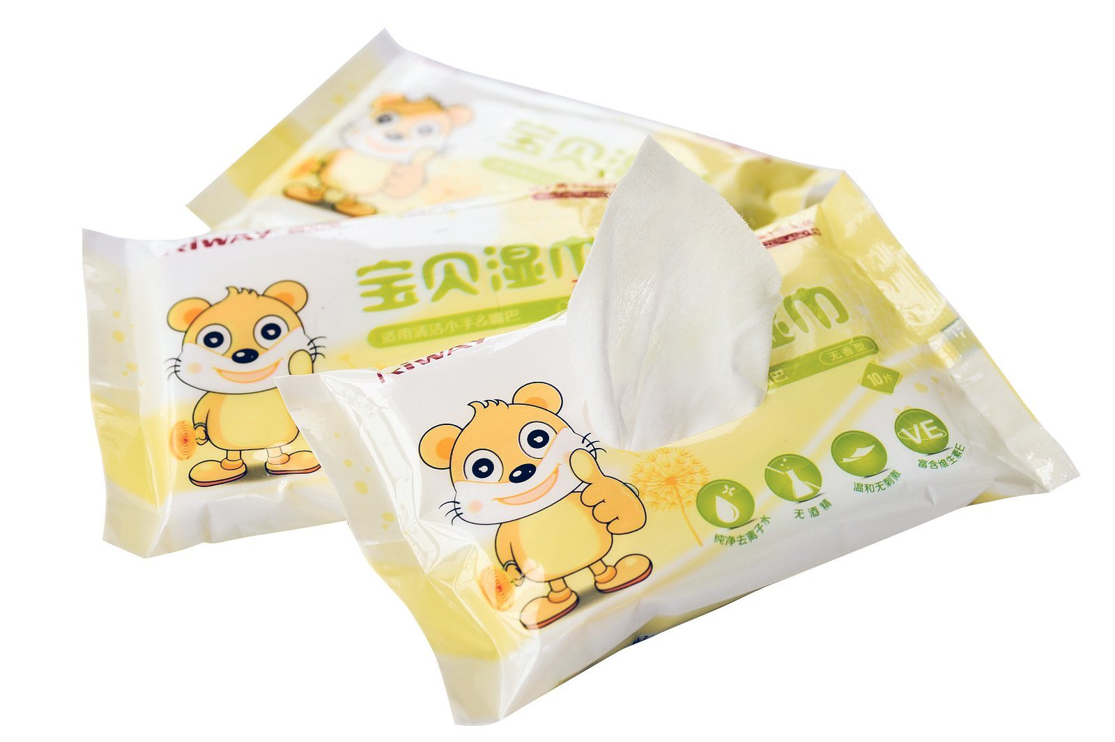 2017 New Baby Products Flushable Wipes