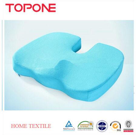 2015 Hot Selling Comfort Memory Foam Gel Seat Cushion
