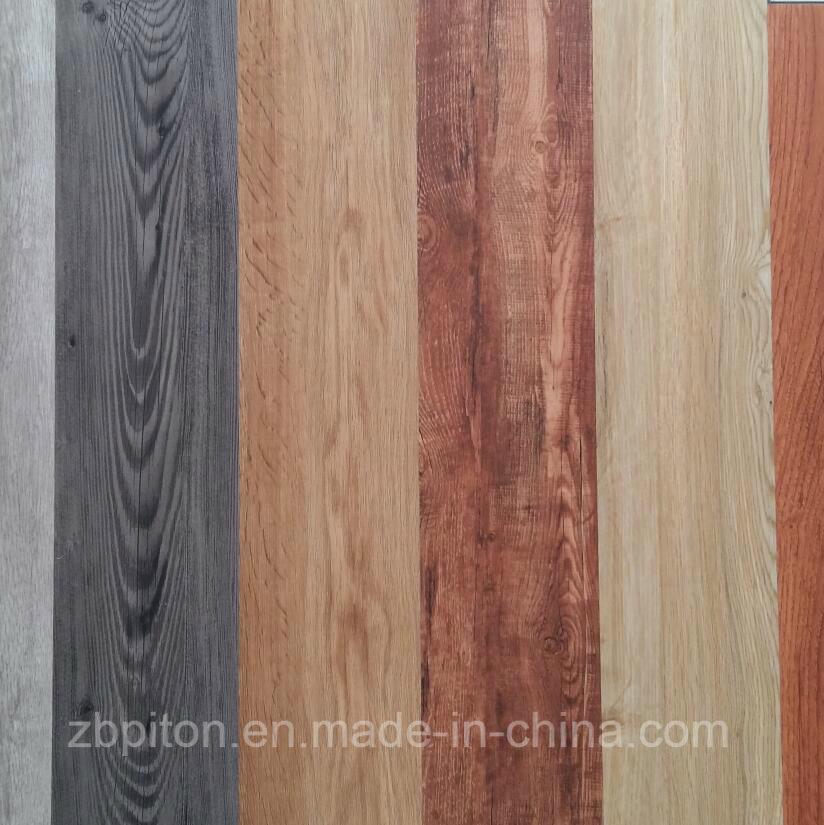 China Wood Grain Luxury Vinyl Tile Lvt Pvc Flooring