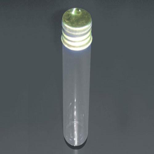 Screw Glass Test Tube with Aluminum Cap