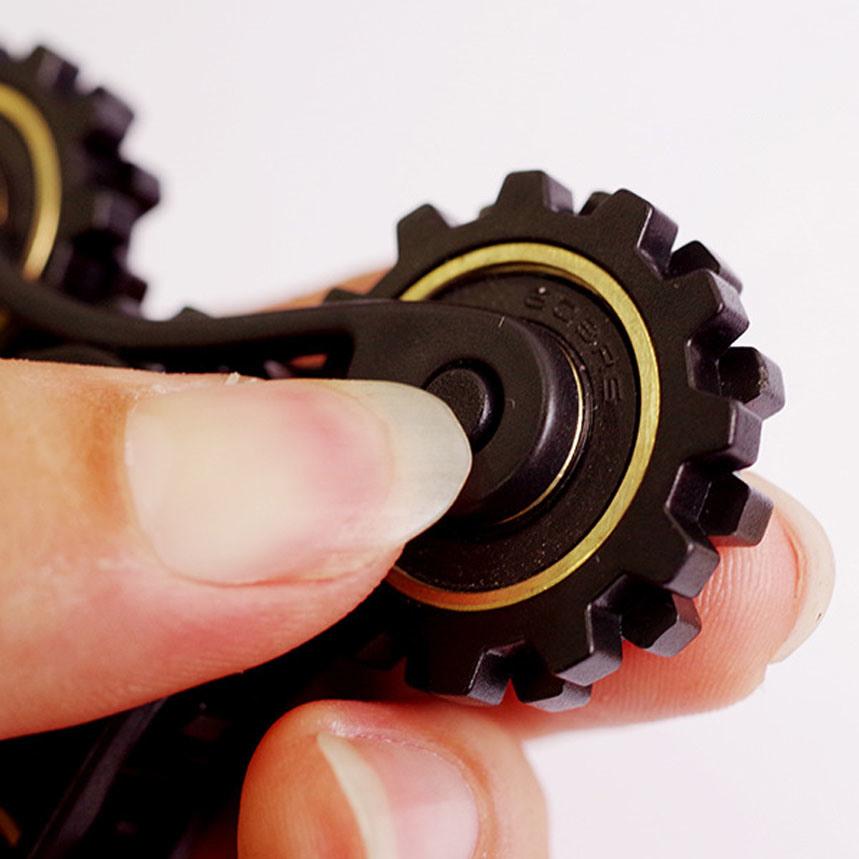 OEM Chinese Manufacturers Hot Gyroscope Fidget Toys Gear Fidget Spinner