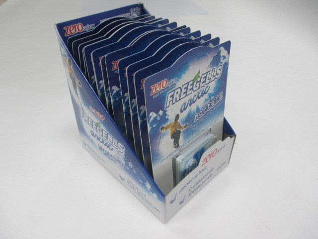 Coolsa Cool Air Breath Strip Chip in Paper Card