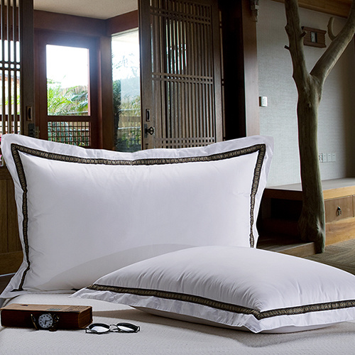 Super Soft Elegant Duck and Goose Down Filling White Pillows