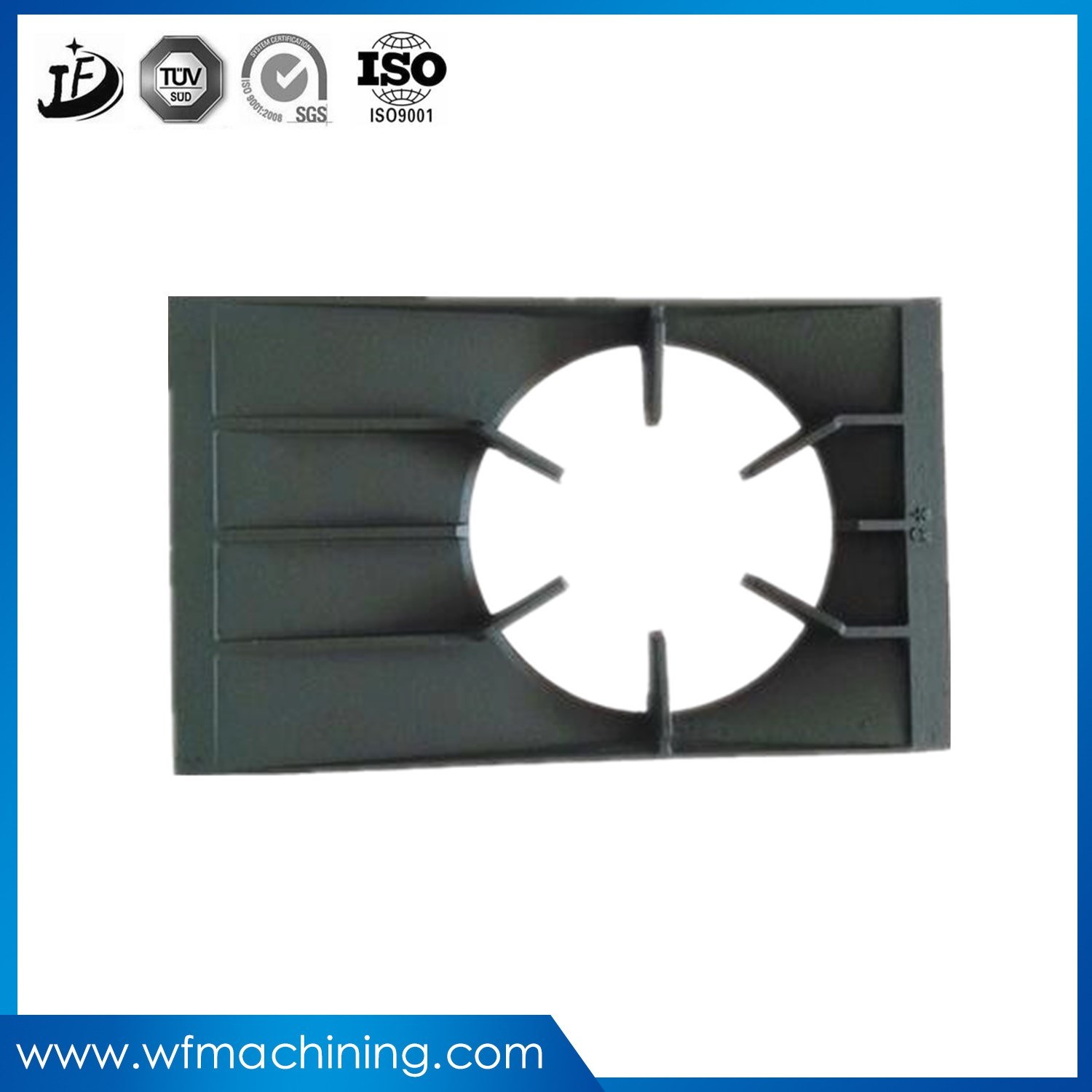 OEM Cast Iron Gas Stove Hob Parts Ring Gas Burner