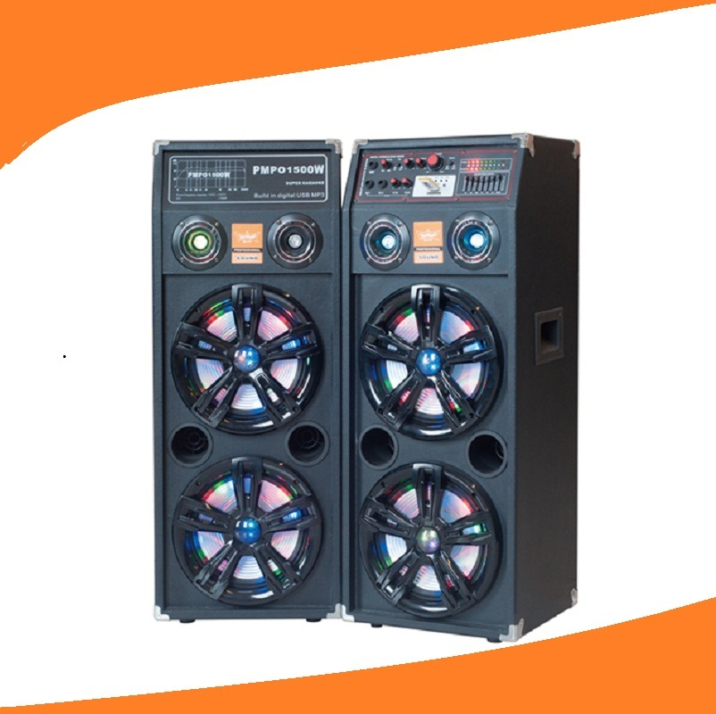 Double 10 Inch Powered DJ Speaker 2.0 Professional Speaker 632A