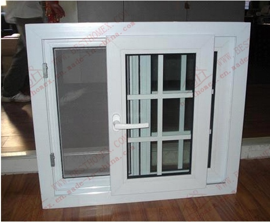 Energy-Saving PVC Sliding Window with Flyscreen (BHP-SW11)