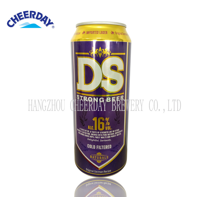 16%Alc 500ml High Alcohol Canned Beer