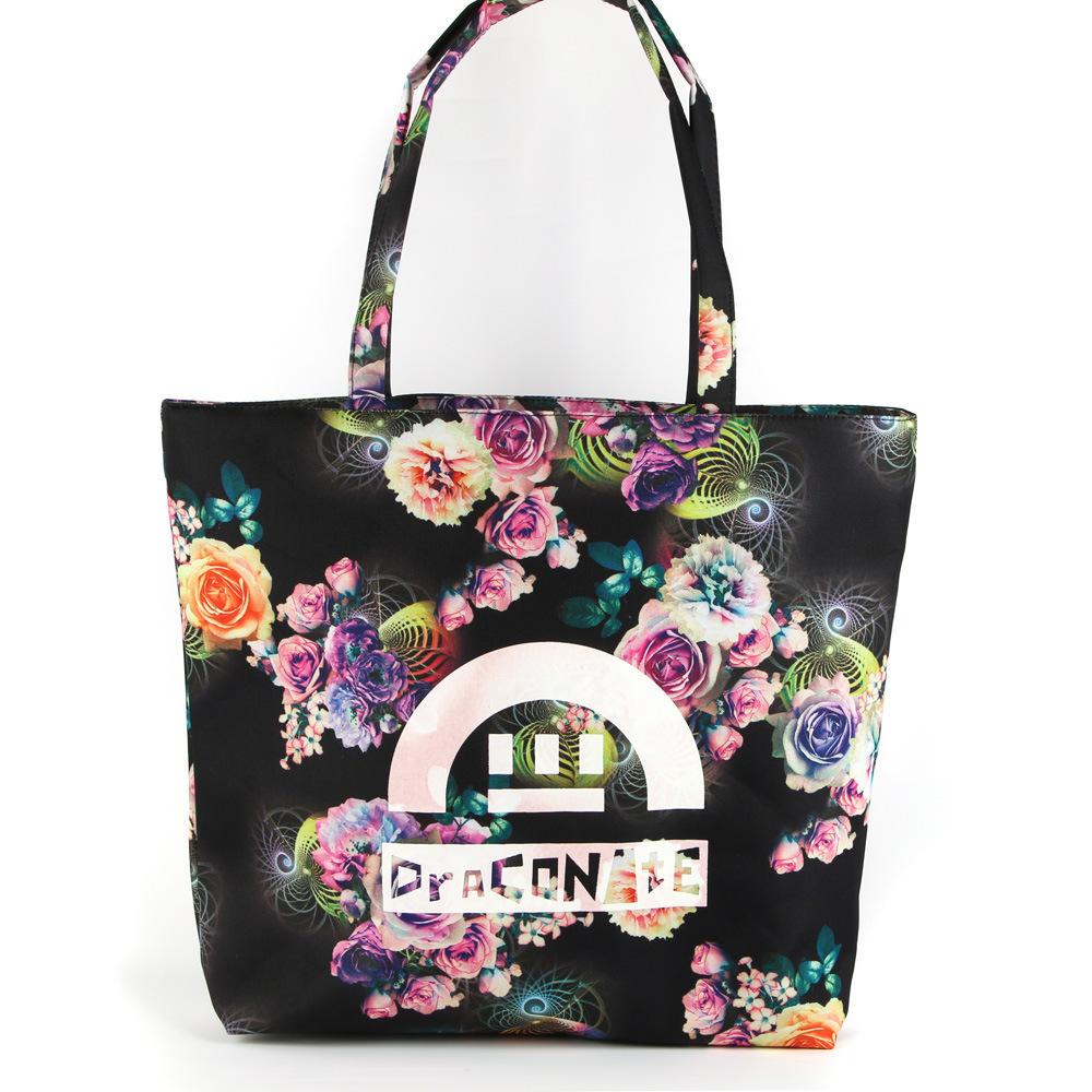 New Fashion Bag Handbag Shoulder Bag Leisure Casual Beach Student Travel Bag Tote Bag Canvas Bag Waterproof Baggs022503-1