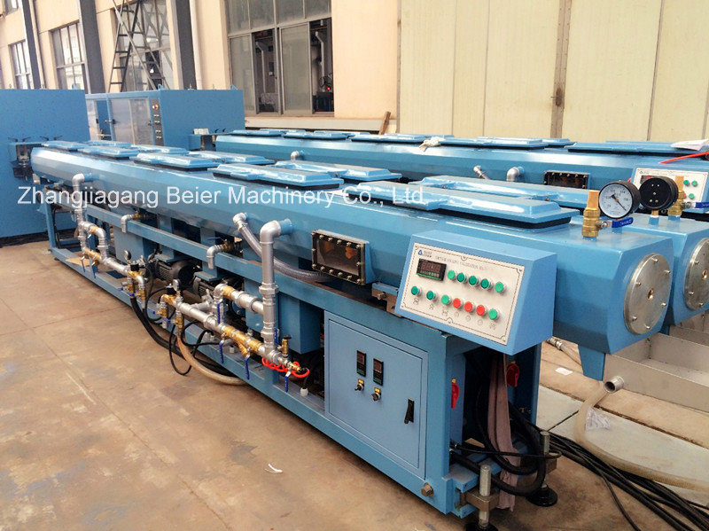 High Speed Plastic Pipe Double-Strand Extrusion Line