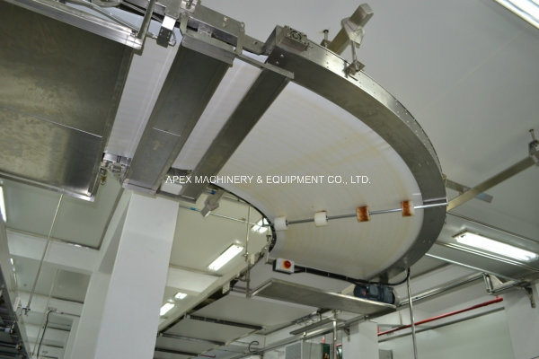 Bending Conveyor for Biscuit Production Line