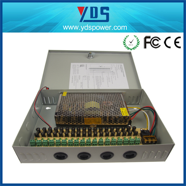 CCTV Power Supply Box 12V 20A 18CH
