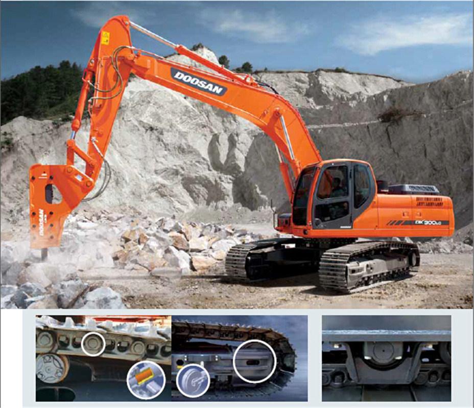 Dx300LC 30 Ton Doosan Crawler Excavator for Sale
