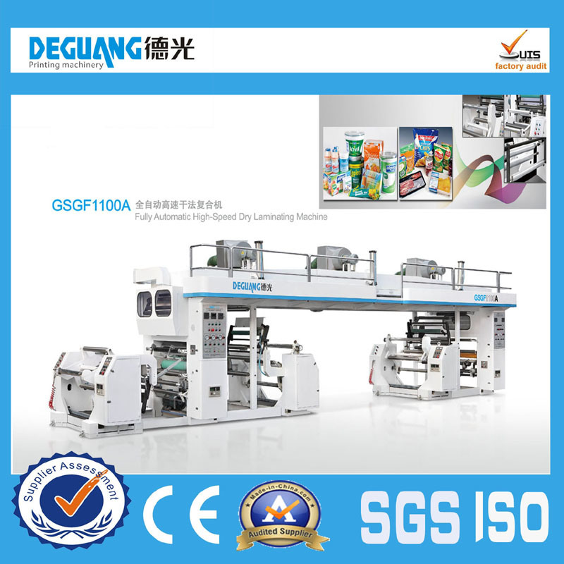Plastic Automatic High Speed Dry Laminating Machine