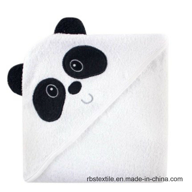 Cotton Animal Design Hooded Bath Towel for Baby /Kid