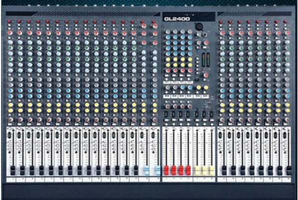 24 Channel Audio Mixer with Phantom Power (GL-2400)
