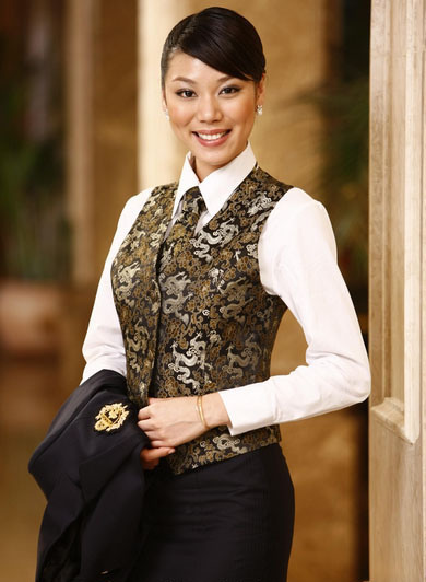 2014 Hotel Uniform for Women in New Style