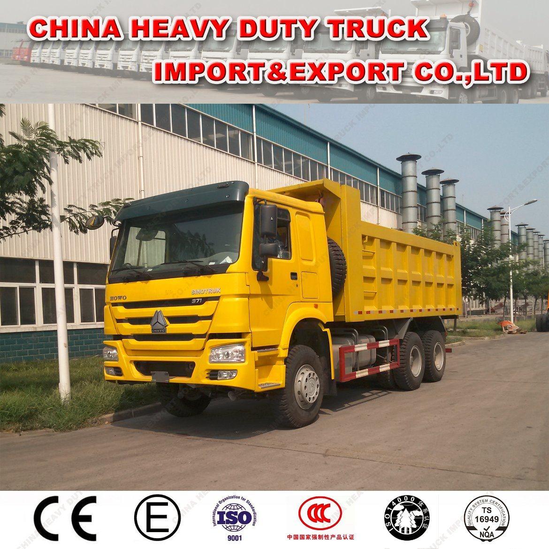 Heavy Equipment Sinotruk HOWO 371 HP Dumper Truck