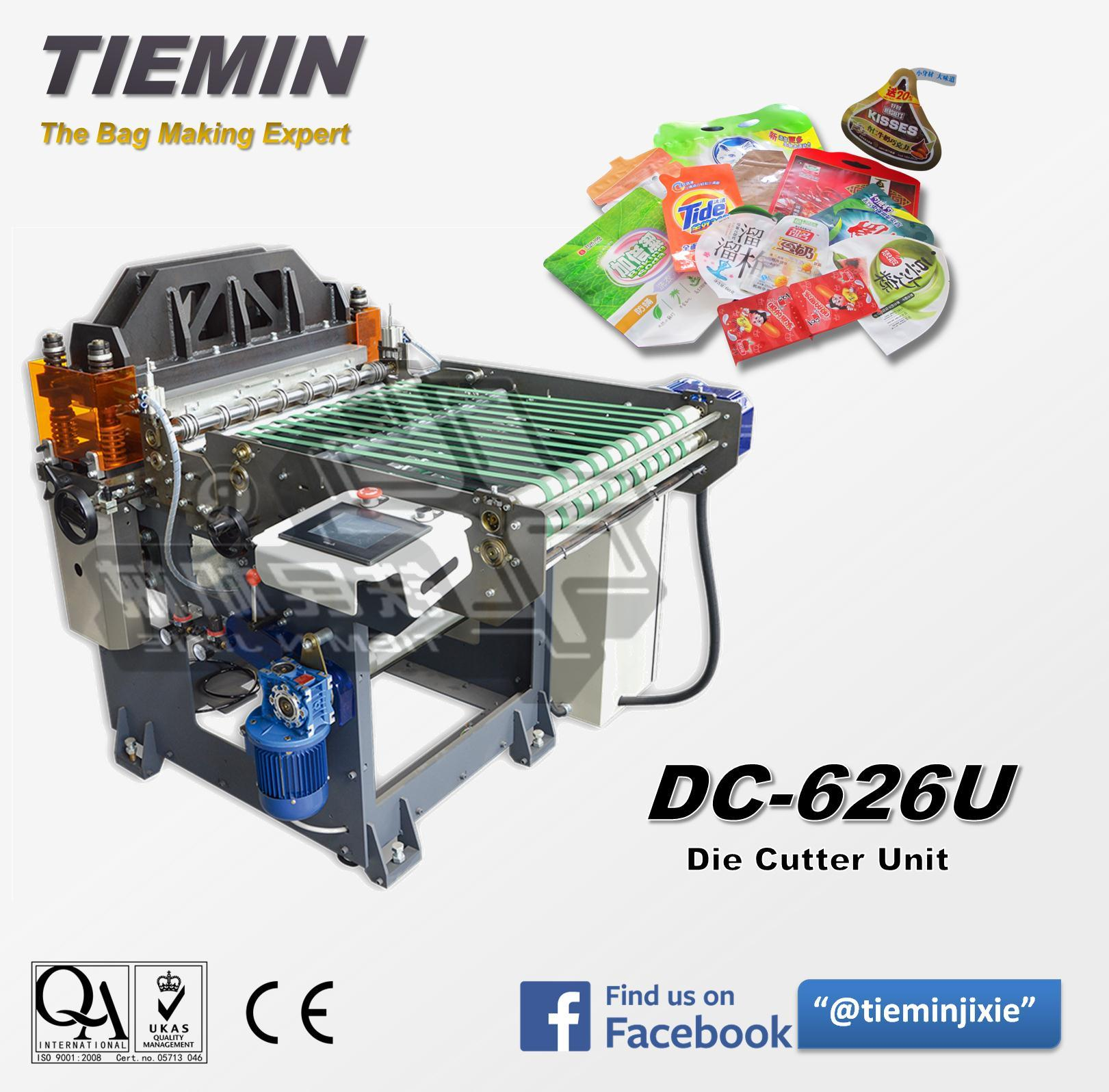 Tiemin High Quality High Speed Automatic Die Cutter Cutting Machinery