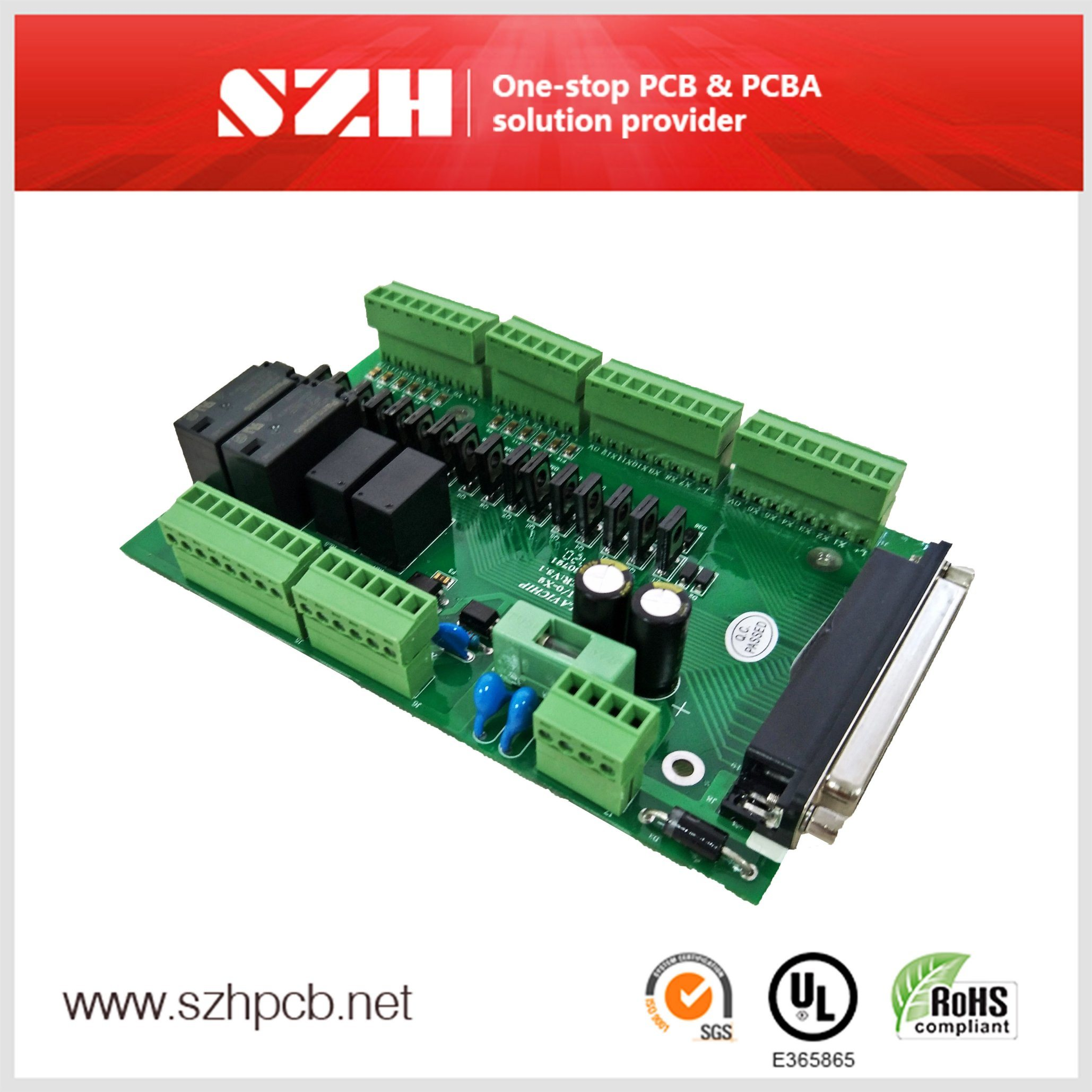 Frequency Conversion System Control Handheld PCBA Board Supplier