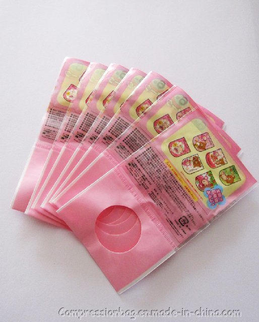 Clear Plastic Colorful Package Bag for Gifts