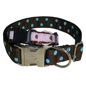 Nylon Dog Collar With Metal Clasp