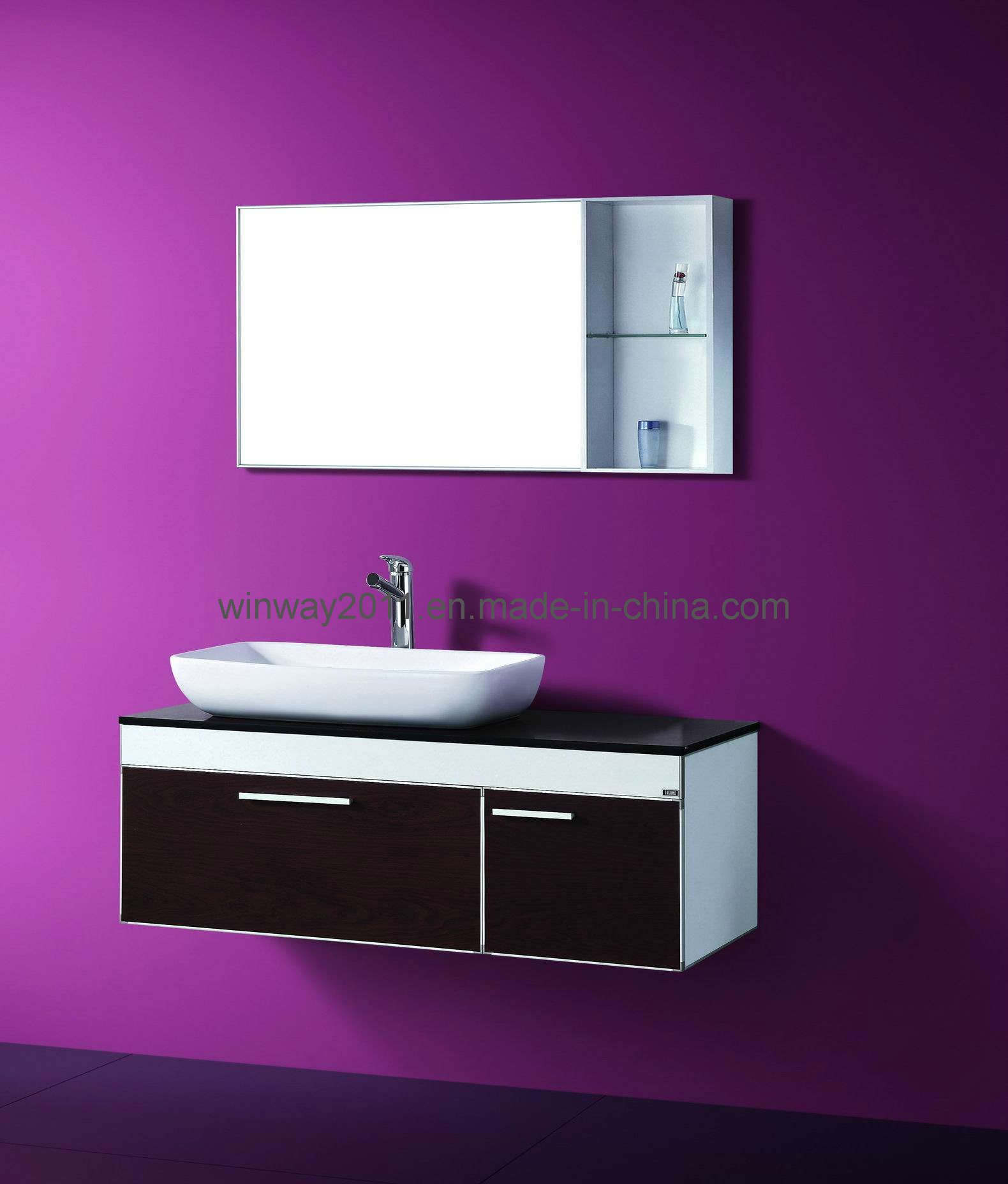 Metal Bathroom Cabinet Bathroom Vanity Ws 68012 China Stainless Cabinet Bathroom Furniture