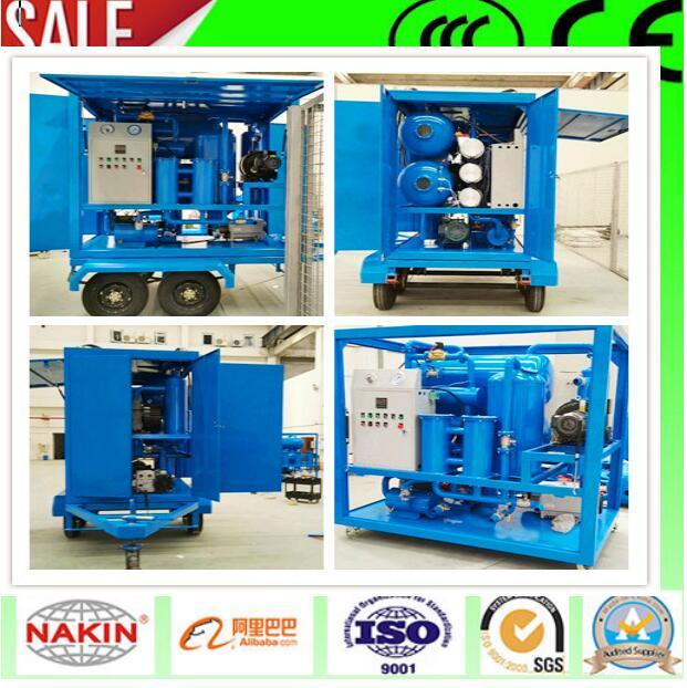 Zym-200 Trailer Type Transformer Oil Purifier/Oil Centrifuge Machine