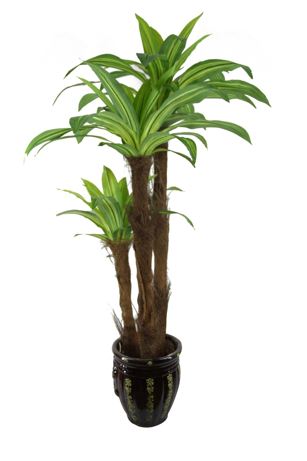 China emulated dracaena fragrans synthetic plants jtla for Plante dracaena