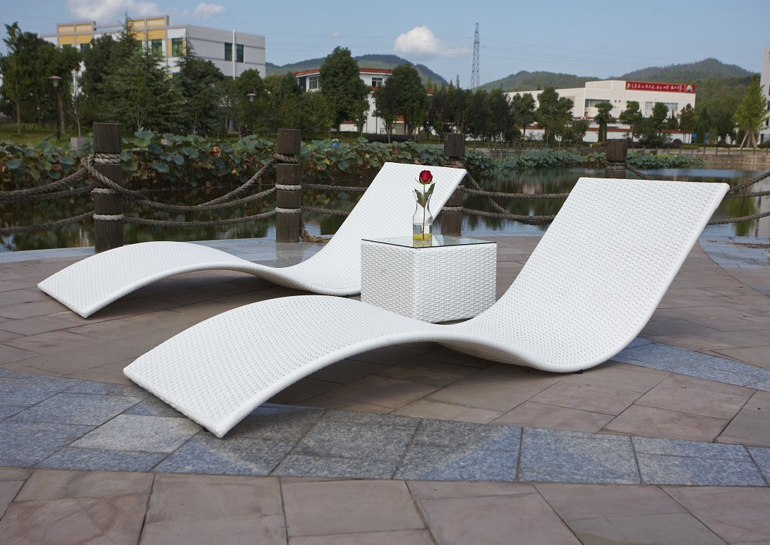 China Outdoor Lounge Rattan Lounge Furniture