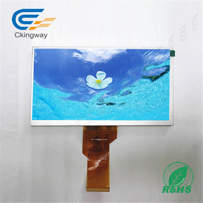 7.0 Inch High Resolutions Colorful Display Transparent TFT LCD Display