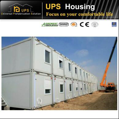 Economical Simple Container House with Windows and Doors